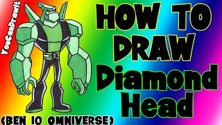 How To Draw Diamondhead from Ben 10 Omnivewrse ✎ YouCanDrawIt ツ 1080p HD