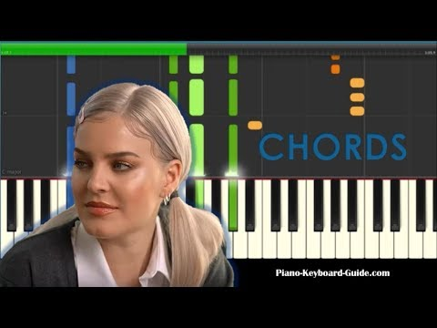 Anne-Marie 2002 Chords Piano Tutorial - How To Play