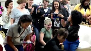 Soirée bloggeurs. Braderie Sol en Si 2012 avec Sakina M