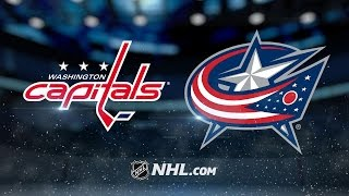 Three-goal 2nd period leads Caps past Blue Jackets
