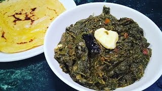 Chane ka saag // चने के पत्तों का साग // chana recipe // makki ki roti sarson ka saag