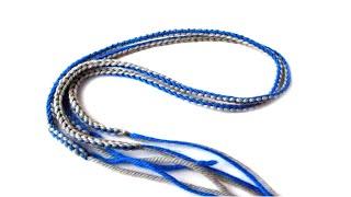 Шнурки крючком цветной для пинеток Василиса