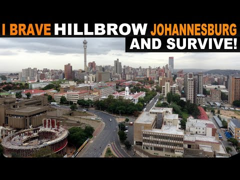A very brief visit to Hillsbrow, Johannesburg, South Africa