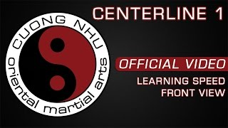 Cuong Nhu Centerline 1 - Official Kata - Learning Speed - Front View