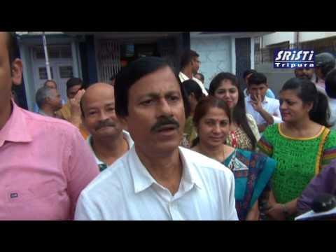 SRISTI TRIPURA  NEWS Live  27 07 2017 - HD video