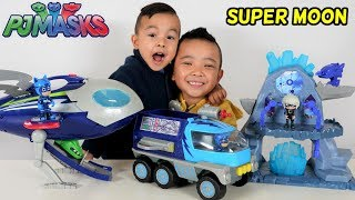 SUPER MOON ADVENTURE PJ Masks Playset Unboxing Fun CKN Toys
