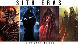 All Sith Eras Explained | Star Wars Legends Explained
