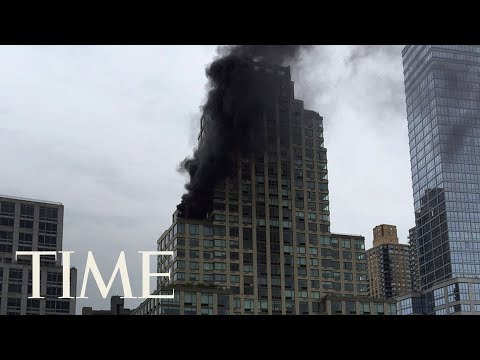 2 People Were Injured When A Fire Broke Out At Trump Tower In NYC, Fire Contained | TIME