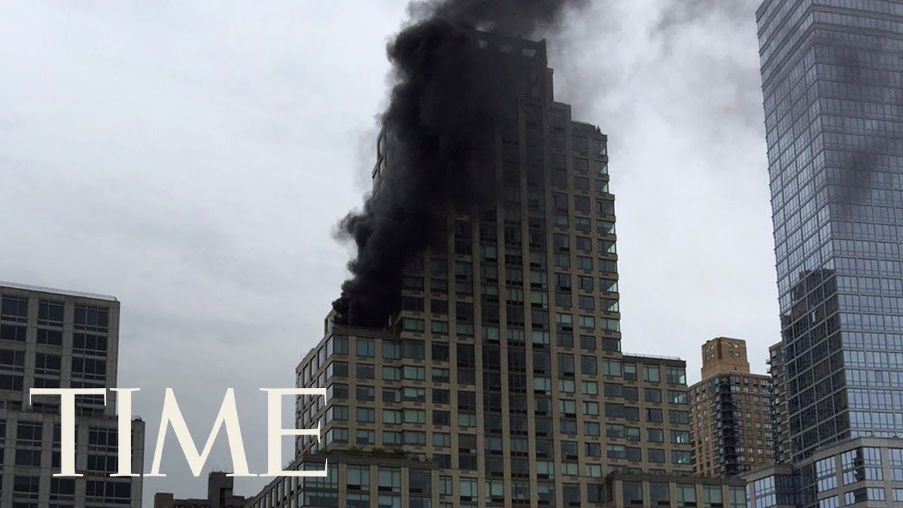 2 People Were Injured When A Fire Broke Out At Trump Tower In Nyc Contained Time