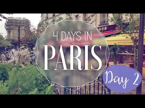 Paris in 4 days! Day 2: Rainy day, Louvre, hop-on hop-off bu