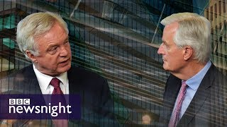 Tory split over Brexit transition period – BBC Newsnight