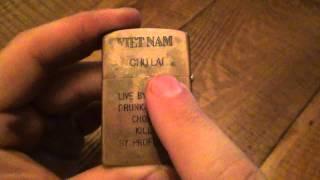 Counterfeit Zippo Breakdown #1 - Vietnam Fake