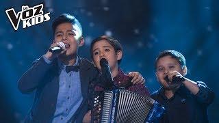 Carlitos, Juanjo y Jhaner cantan Amor Sensible – Batallas | La Voz Kids Colombia 2018
