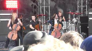 Apocalyptica - Grace (live at Hellfest 2011)