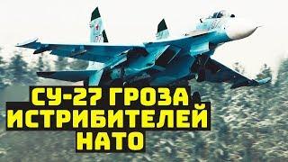 Старичок истребитель Су-27 всё ещё рвёт на портянки почти все самолёты НАТО видео