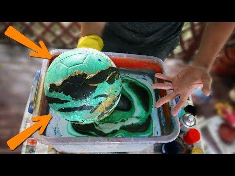 Как разукрасить мячик
