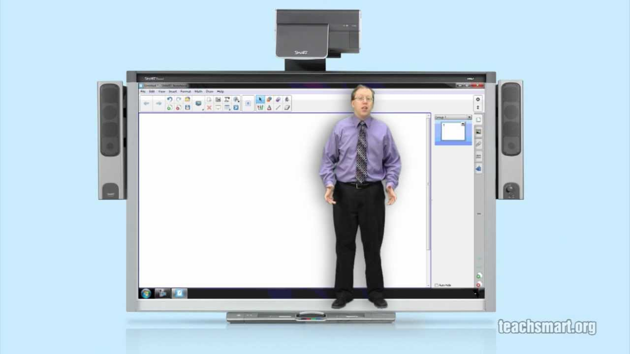 SMART Notebook: Document Camera Connection