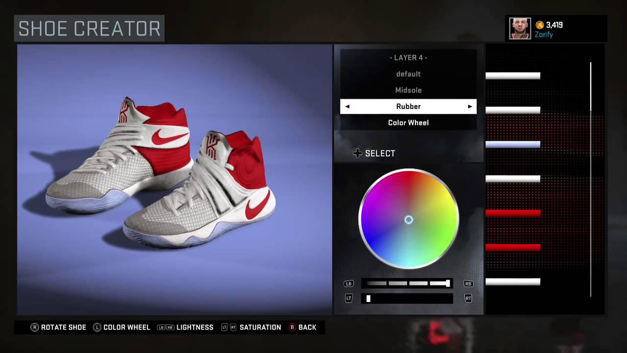 b5faaf4f0906 NBA 2K16 Shoe Creator - Nike Kyrie 2