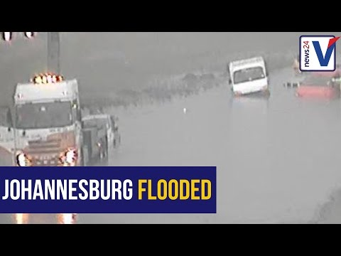 WATCH: Parts of Johannesburg under water