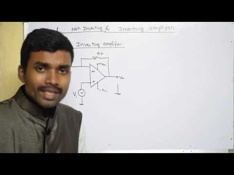 Inverting and Non inverting Op-Amplifier