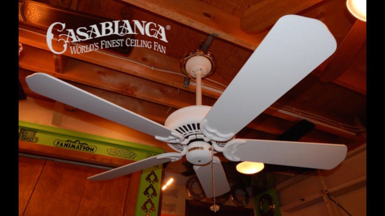 Casablanca Panama Ii Ceiling Fan 1 Of 2 1080p Hd