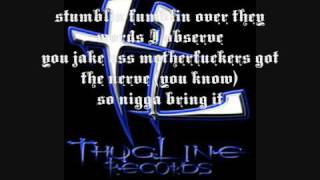 Krayzie Bone - You Want War (W/Lyrics)