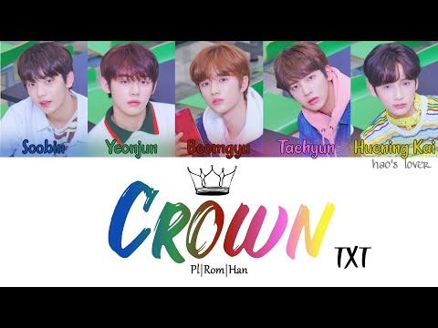 txt---crown-(어느날-머리에서-뿔이-자랐다)-(color-coded-lyrics-pl/rom/han/가사)