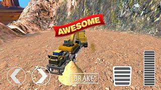 Sand Excavator Simulator 2021: Truck Driving Games Android Gameplay screenshot 4