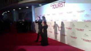 The Tourist premiere en Madrid. Angelina y Brad........y yo!!