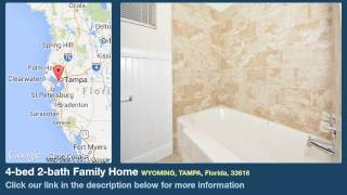 4-bed 2-bath Family Home for Sale in Tampa, Florida on florida-magic.com