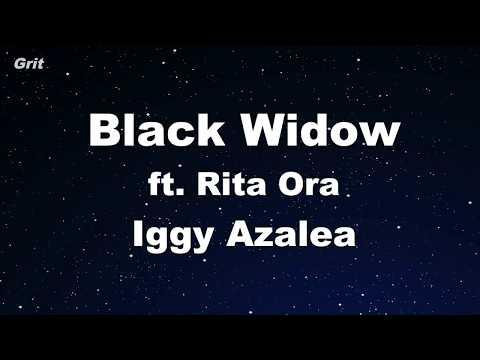 Black Widow ft. Rita Ora - Iggy Azalea Karaoke 【No Guide Melody】 Instrumental