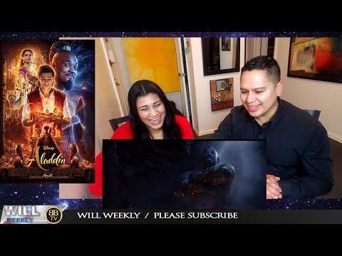 Aladdin Trailer #1 2019 full Trailers REACTION