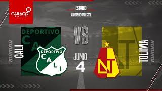 EN VIVO   Cali vs. Tolima, Liga Colombiana por el Fenómeno del Fútbol