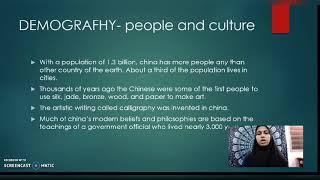 Tourism Geography - China