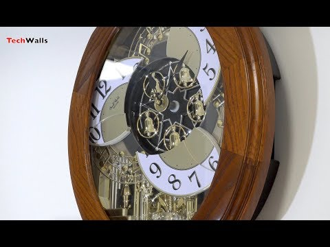 Rhythm Wall Clock With Music and Movements - Magic Motion Clock