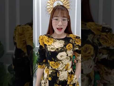 [ THỜI TRANG TRUNG NIÊN ] Đầm Thiết Kế Hoa Giảm Giá Sốc - Miễn Phí Vận Chuyển - Váy Đầm Trung Niên.