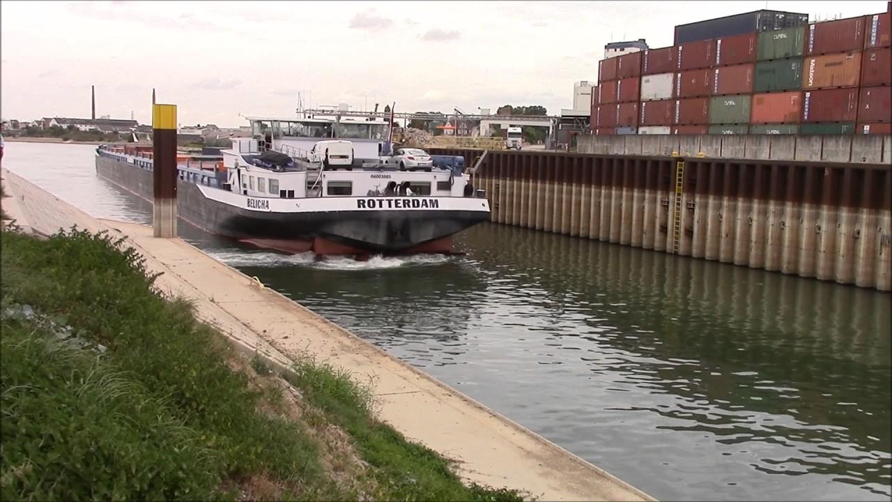 Schiffsunglück Auf Dem Rhein