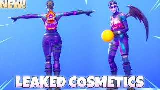 NEW! UNRELEASED BACK BLINGS/EMOTES With DARK BOMBER Skin! Fortnite Battle Royale