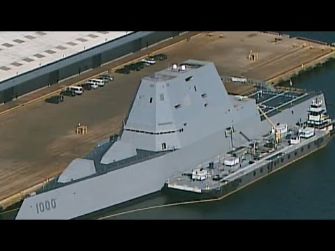 On Board The USS Zumwalt, The Navy's Pricey New Battleship