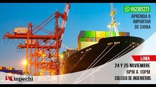 Importar de China   Lima   Noviembre