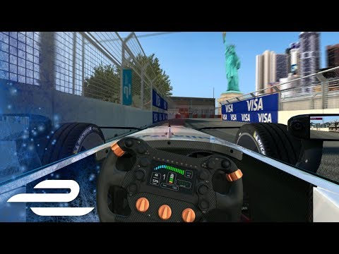 New York City Virtual Flying Lap - 2017 Formula E Qualcomm New York City ePrix