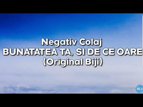 Download Negativ Colaj - Bunatatea Ta (Original Biji)