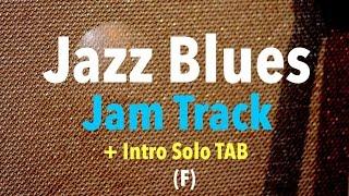 F Jazz Blues Backing Track (+ Intro TAB)