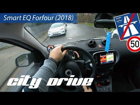Smart EQ Forfour (2018) - City Test Drive POV