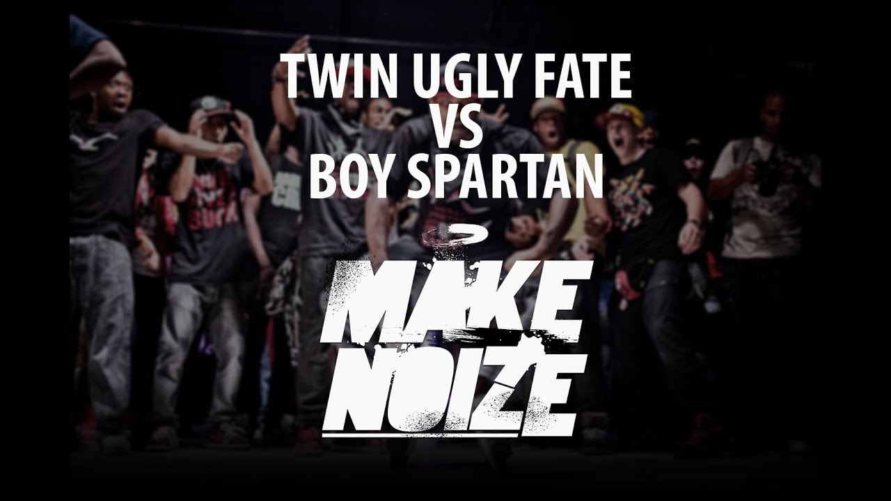 BOY SPARTAN VS TWIN UGLY FATE | KRUMP PRO 1/8 | MAKE NOIZE ...
