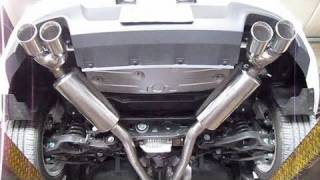 Hyundai Genesis Coupe 3.8 Installation of the Stillen True Dual Exhaust and AEM CAI Before After