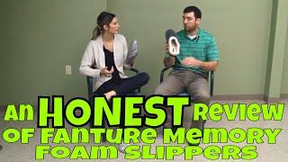 An HONEST Review of Fanture Memory Foam Slippers