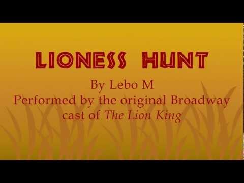 The Lion King - Lioness Hunt (LYRICS & TRANSLATIONS)