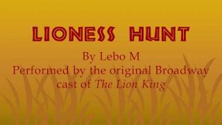 The Lion King - Lioness Hunt (LYRICS & TRANSLATIONS)
