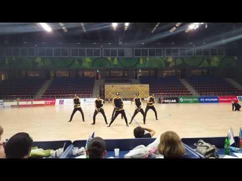 Crazy Eyes Crew. AZERBAİJAN OPEN DANCE & ART & CHEERLEADİNG CHAMPİONSHİP 2016.